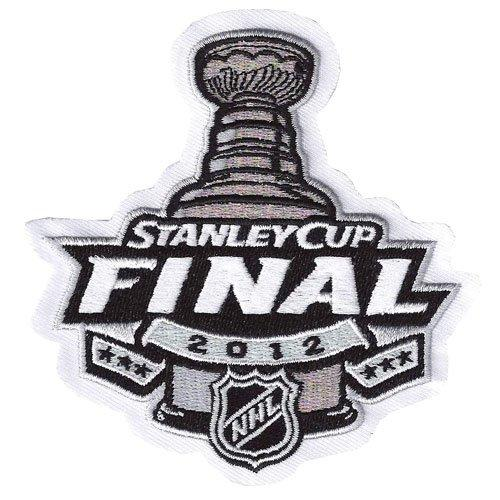 Stitched 2012 NHL Stanley Cup Final Logo Jersey Patch New Jersey Devils vs Los Angeles Kings