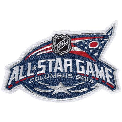Stitched 2013 NHL All-Star Game Jersey Patch Columbus Blue Jackets