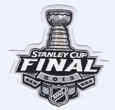 Stitched 2013 NHL Stanley Cup Final Logo Jersey Patch Boston Bruins vs Chicago Blackhawks