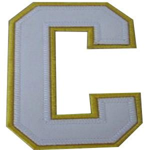 Stitched Dallas Stars Alternate Captain White C Patch
