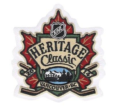 Stitched NHL 2014 Heritage Classic Game Logo Patch (Vancouver Canucks vs. Ottawa Senators)