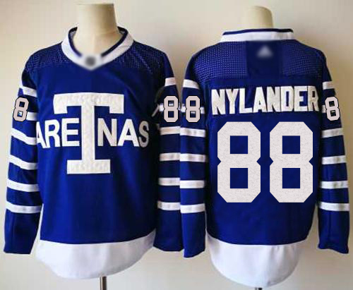 Adidas Maple Leafs #88 William Nylander Blue Authentic 1918 Arenas Throwback Stitched NHL Jersey