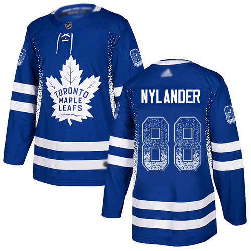 Adidas Maple Leafs #88 William Nylander Blue Home Authentic Drift Fashion Stitched NHL Jersey