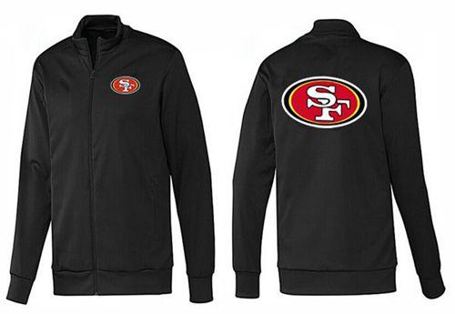 NFL San Francisco 49ers Team Logo Jacket Black_1