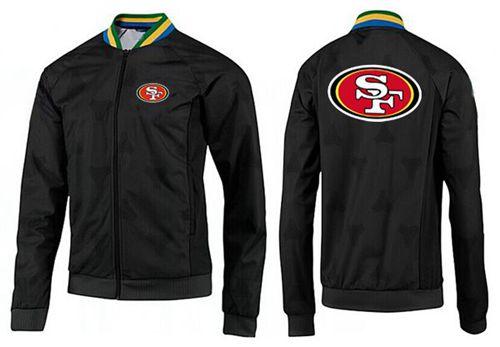 NFL San Francisco 49ers Team Logo Jacket Black_4