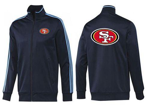 NFL San Francisco 49ers Team Logo Jacket Dark Blue