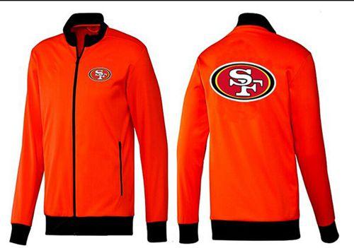 NFL San Francisco 49ers Team Logo Jacket Orange