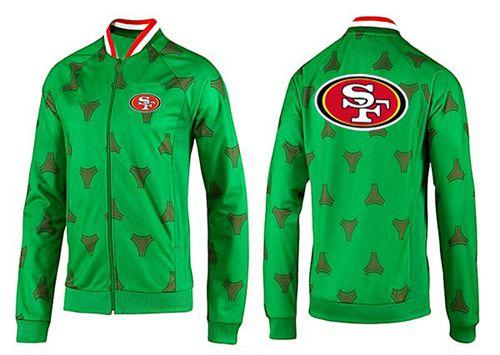 NFL San Francisco 49ers Team Logo Jacket Green