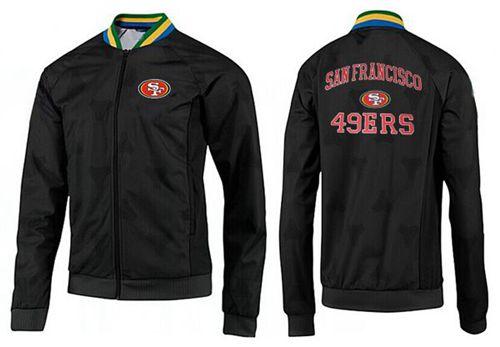 NFL San Francisco 49ers Heart Jacket Black_2