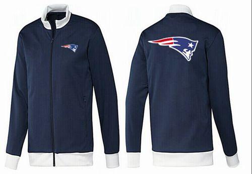 NFL New England Patriots Team Logo Jacket Dark Blue