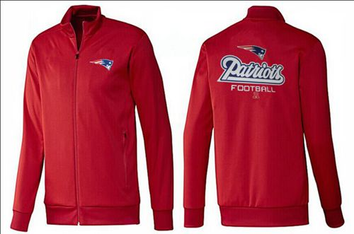 NFL New England Patriots Victory Jacket Red