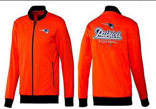 NFL New England Patriots Victory Jacket Orange