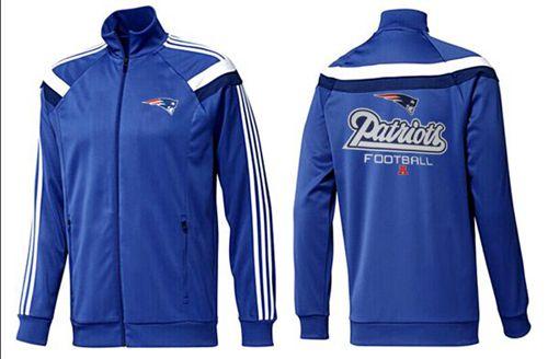 NFL New England Patriots Victory Jacket Blue