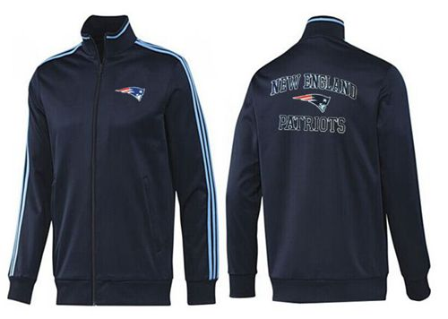NFL New England Patriots Heart Jacket Black