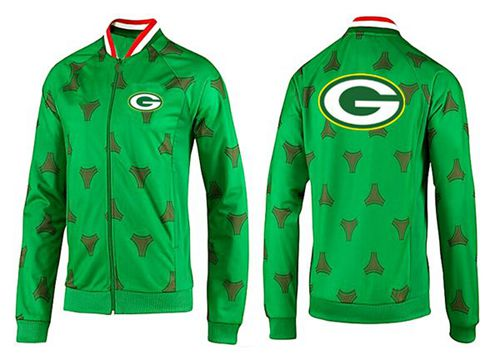 NFL Green Bay Packers Team Logo Jacket Green_2