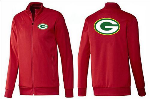 NFL Green Bay Packers Team Logo Jacket Red