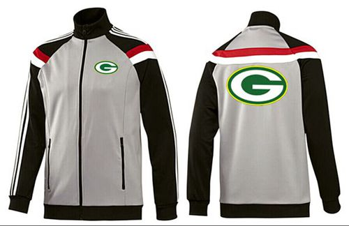 NFL Green Bay Packers Team Logo Jacket Grey