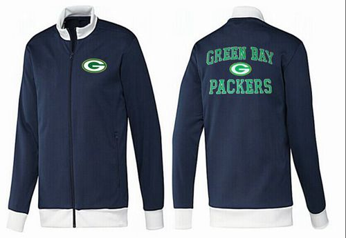NFL Green Bay Packers Heart Jacket Dark Blue