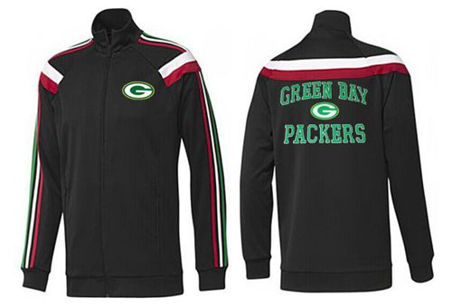 NFL Green Bay Packers Heart Jacket Black