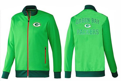 NFL Green Bay Packers Heart Jacket Green