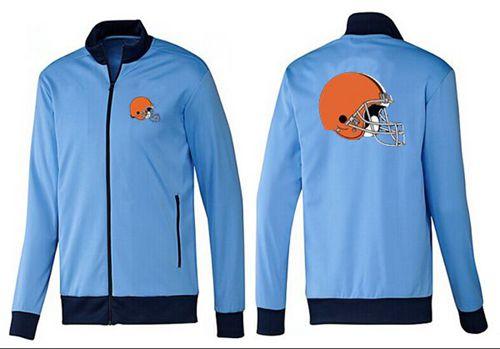 NFL Cleveland Browns Team Logo Jacket Light Blue