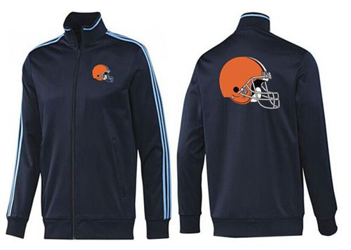 NFL Cleveland Browns Team Logo Jacket Dark Blue