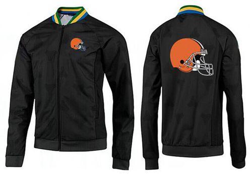 NFL Cleveland Browns Team Logo Jacket Black
