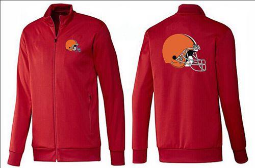 NFL Cleveland Browns Team Logo Jacket Red