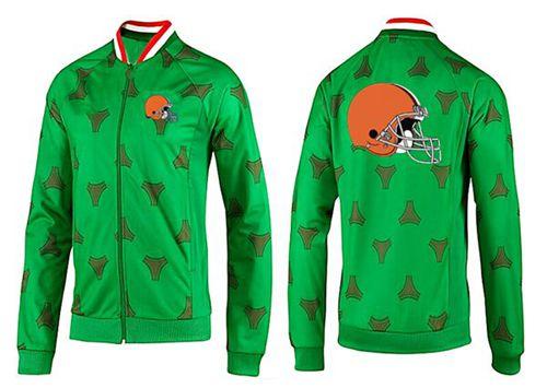 NFL Cleveland Browns Team Logo Jacket Green