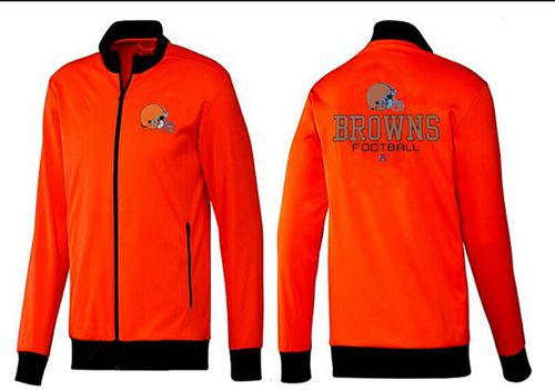 NFL Cleveland Browns Victory Jacket Orange