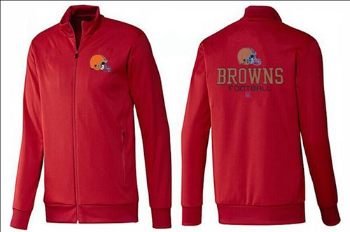 NFL Cleveland Browns Victory Jacket Red