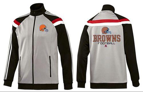 NFL Cleveland Browns Victory Jacket Grey