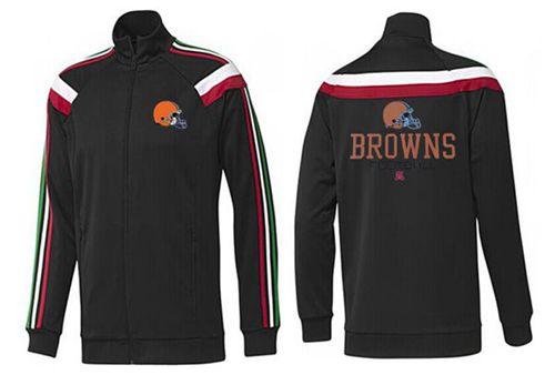 NFL Cleveland Browns Victory Jacket Black