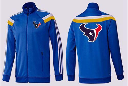 NFL Houston Texans Team Logo Jacket Blue_3