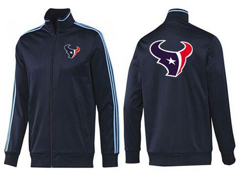 NFL Houston Texans Team Logo Jacket Dark Blue_2