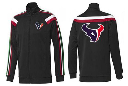 NFL Houston Texans Team Logo Jacket Black