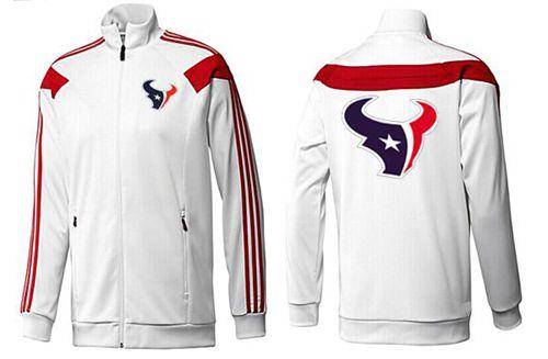 NFL Houston Texans Team Logo Jacket White_1