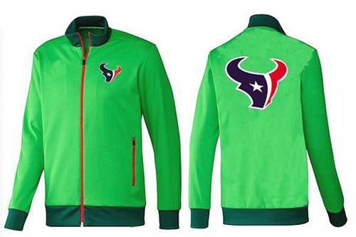 NFL Houston Texans Team Logo Jacket Green