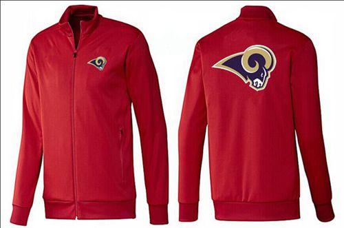 NFL Los Angeles Rams Team Logo Jacket Red