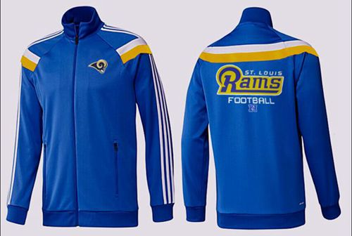 NFL Los Angeles Rams Victory Jacket Blue