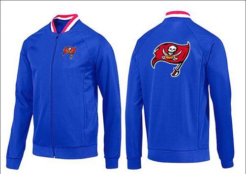 NFL Tampa Bay Buccaneers Team Logo Jacket Blue_1
