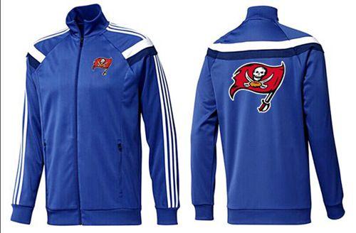 NFL Tampa Bay Buccaneers Team Logo Jacket Blue_2
