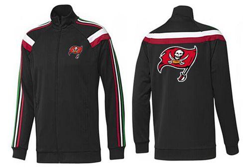 NFL Tampa Bay Buccaneers Team Logo Jacket Black_2