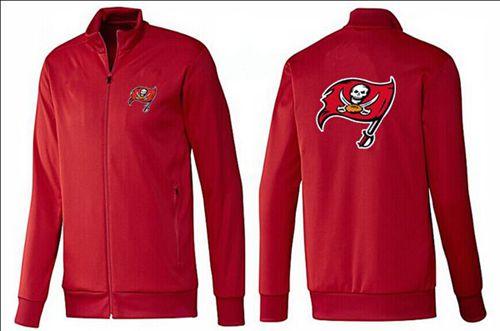 NFL Tampa Bay Buccaneers Team Logo Jacket Red_1