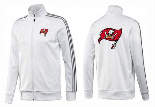 NFL Tampa Bay Buccaneers Team Logo Jacket White_1