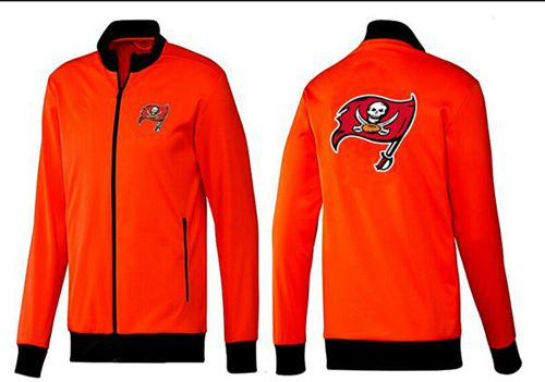 NFL Tampa Bay Buccaneers Team Logo Jacket Orange