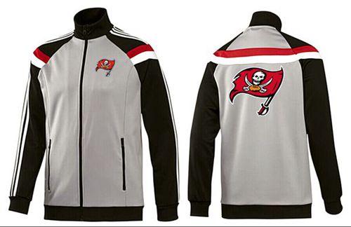 NFL Tampa Bay Buccaneers Team Logo Jacket Grey