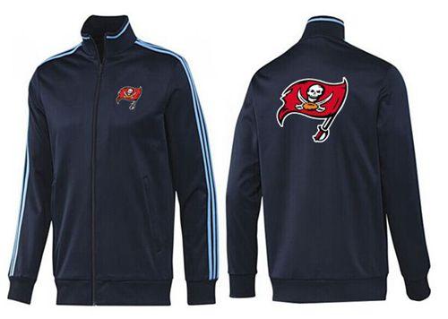 NFL Tampa Bay Buccaneers Team Logo Jacket Dark Blue