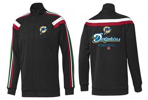 NFL Miami Dolphins Victory Jacket Black
