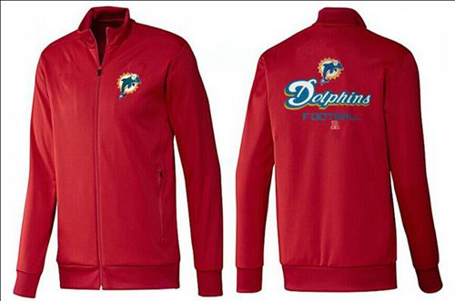 NFL Miami Dolphins Victory Jacket Red